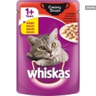 Whiskas Pouch Creamy Soups Beef 85 gr.