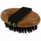 Четка ALCOTT BAMBOO GROOM PALM BRUSH WITH BOAR BRISTLES с глигански косъм