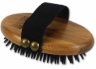 Четка ALCOTT BAMBOO GROOM CURRY BRUSH WITH RUBBER BRISTLES с гумени бодлички