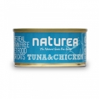 Naturea Cat Tuna and Prawns 80 g