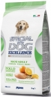 Суха храна SPECIAL DOG EXCELLENCE MAXI ADULT CHICKEN за едри породи над 12 м, пиле, 12 kg